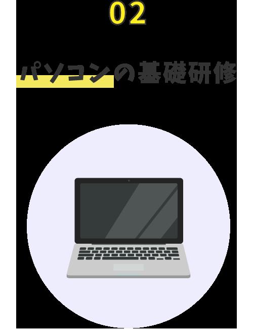 パソコンの基礎研修